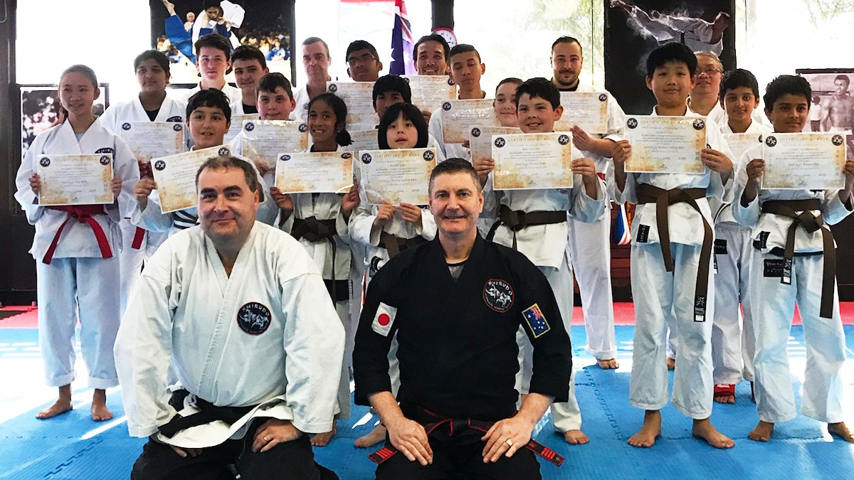 What are the coloured belts in martial arts?
